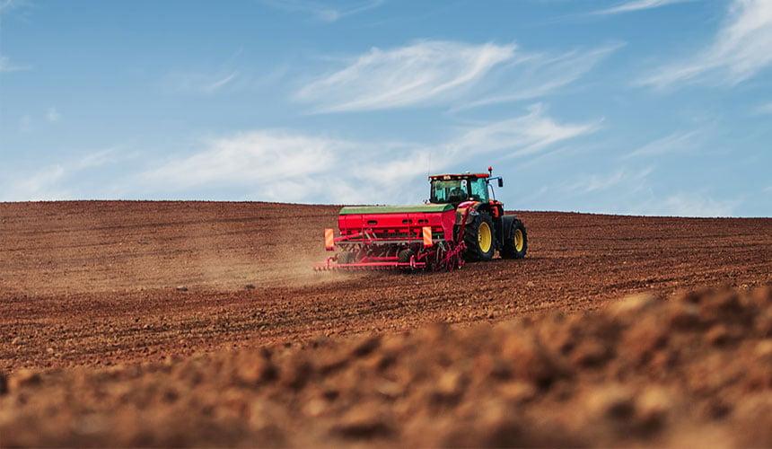 Verbrauch des Traktors
