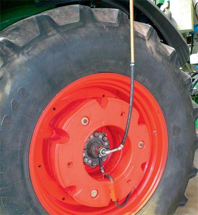 RDA eines Landwirtschaftsreifens
