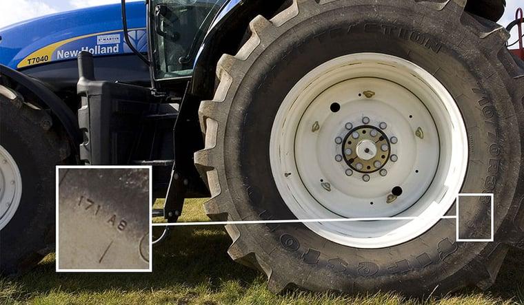 Load-Index eines Traktorreifens