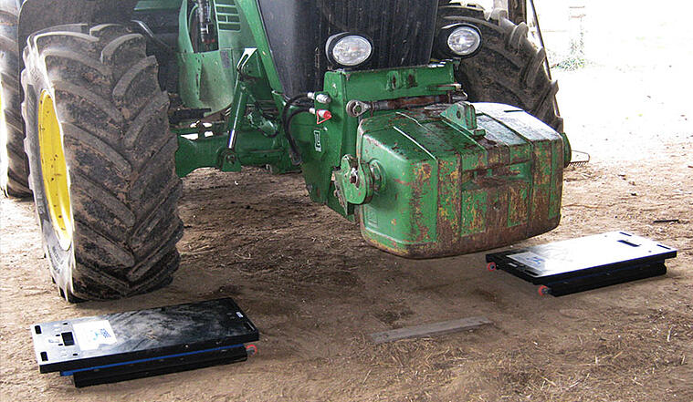 Traktorwaage