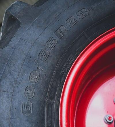 Europäische Reifenkennzeichnung gemäß ETRTO